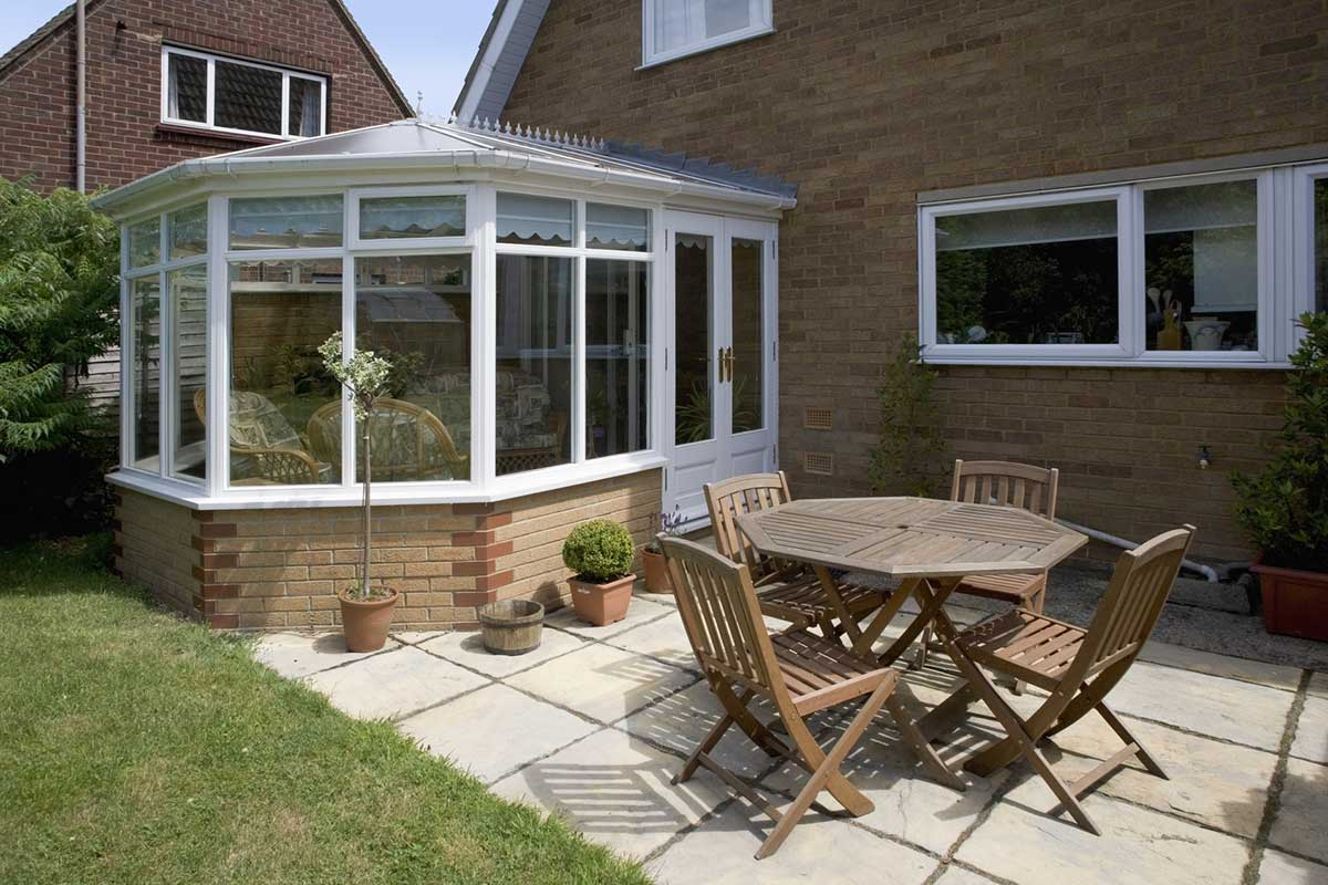 conservatory installation in Southampton