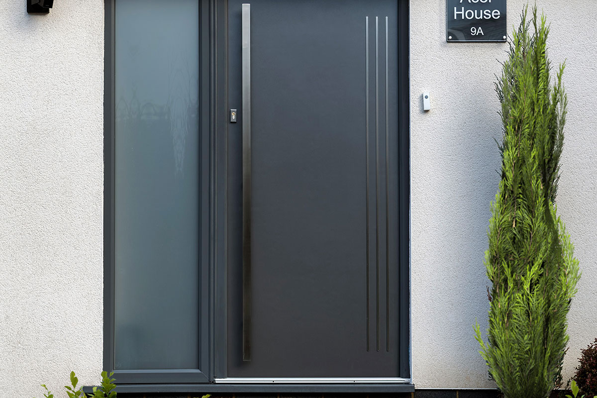 contemporary panel composite door Southampton