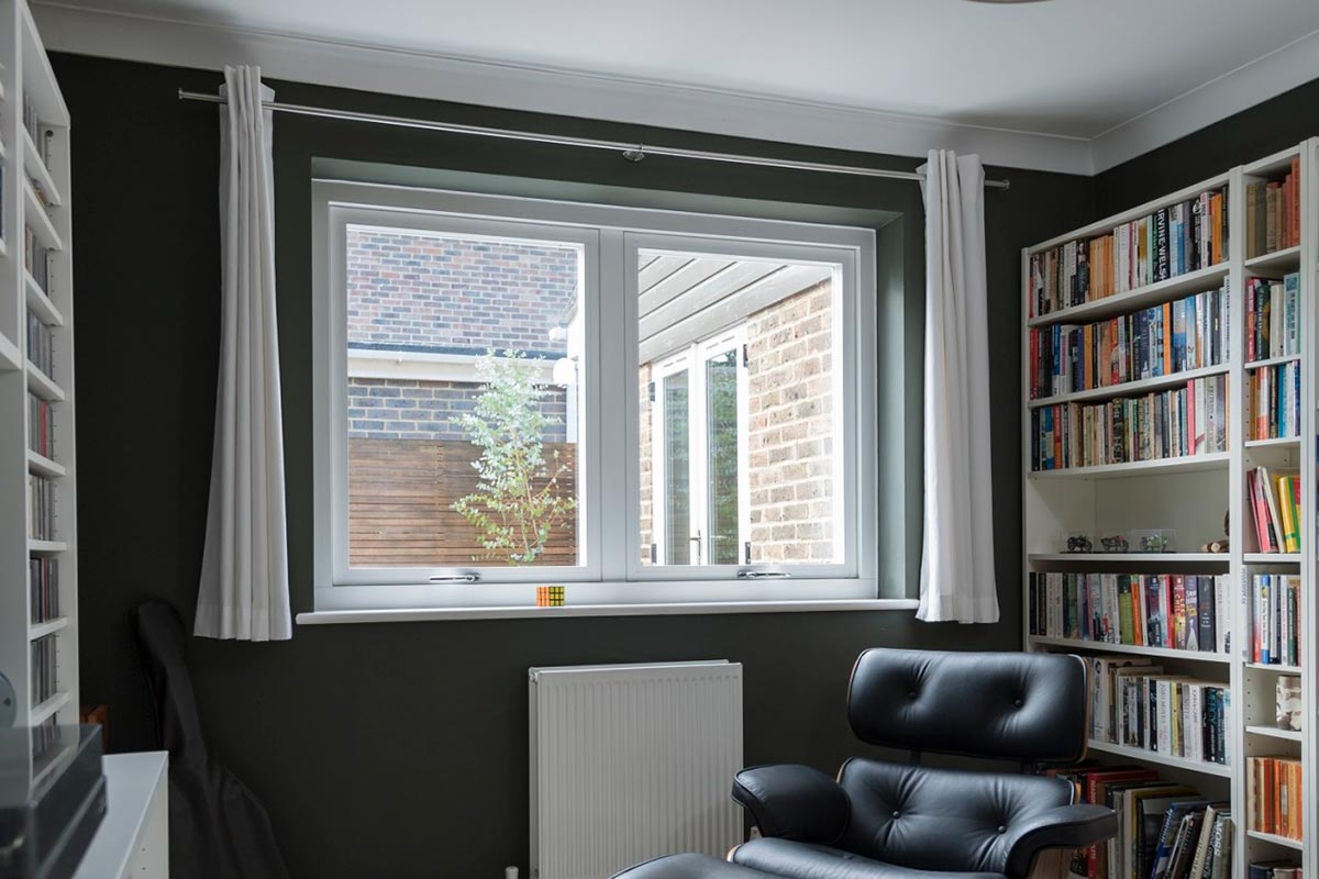 Residence windows interior white