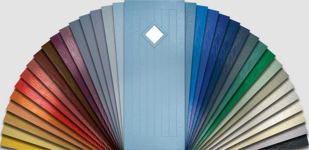 Residor Composite Door Colour Options