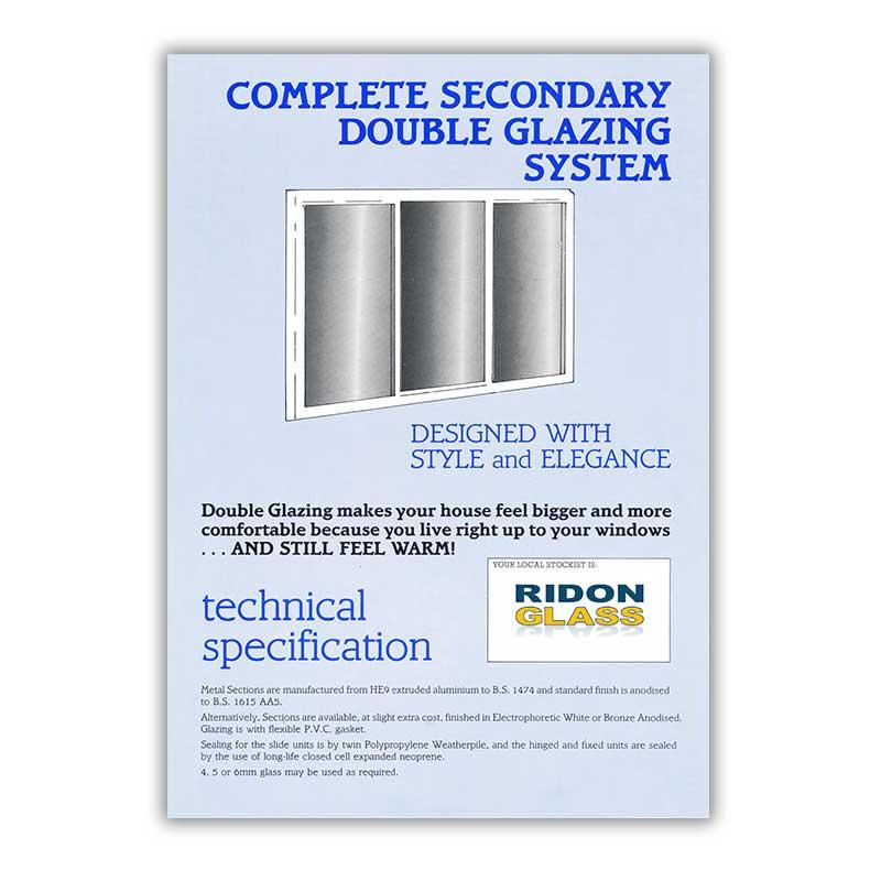 secondary glazing brochure