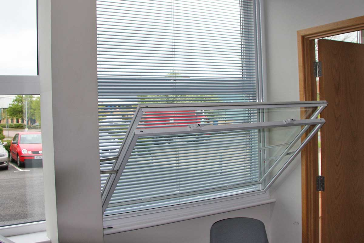 secondary glazing for offices