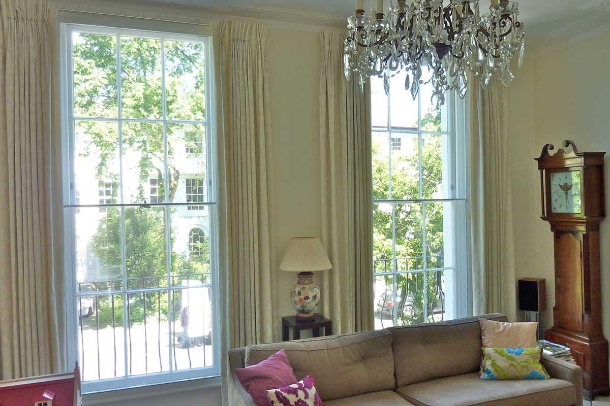 horizontal sliding secondary glazing