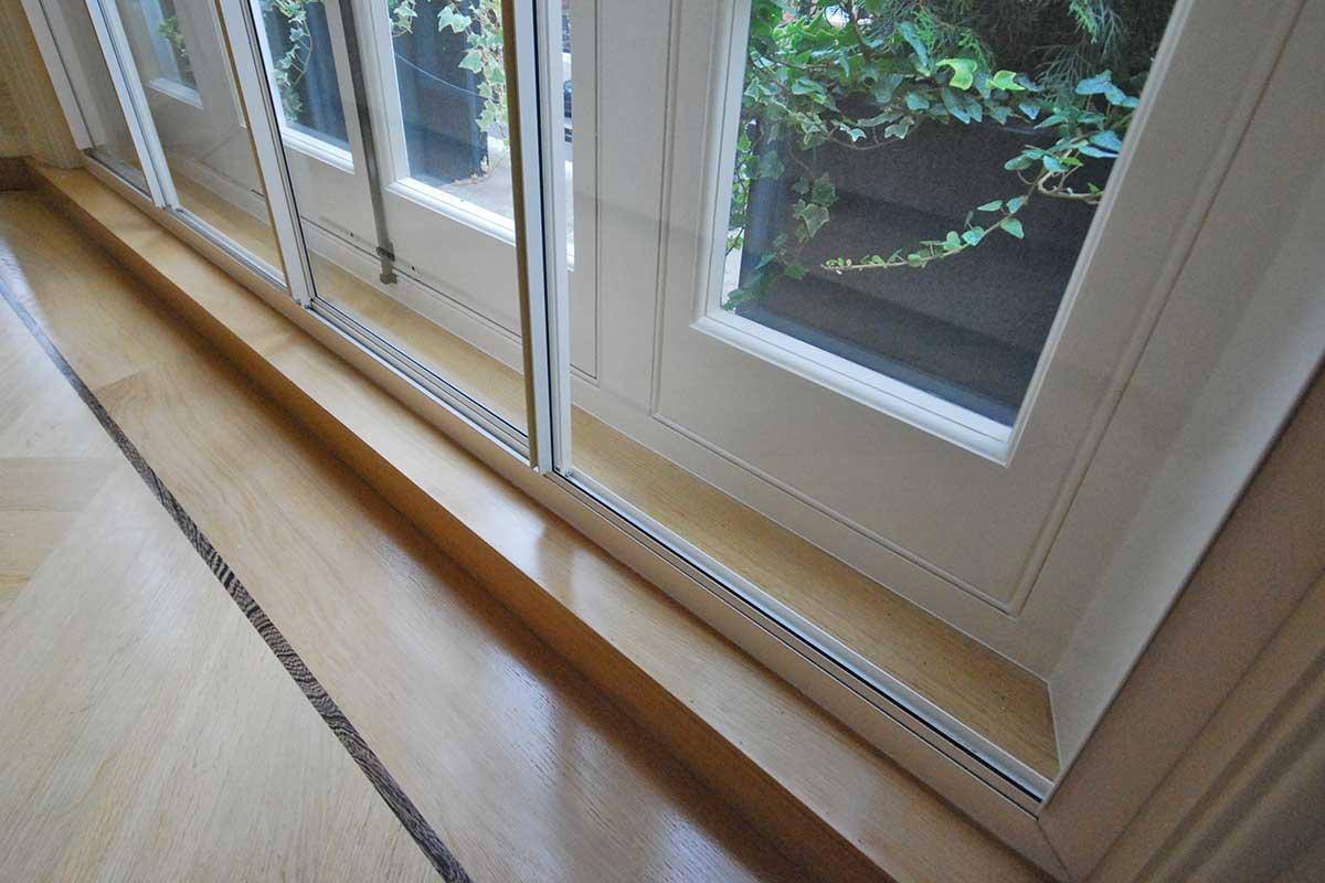 secondary glazing on window
