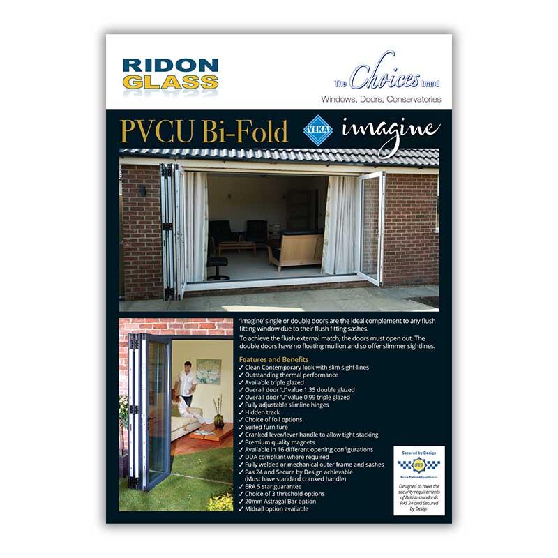 choices pvcu bi-fold doors brochure