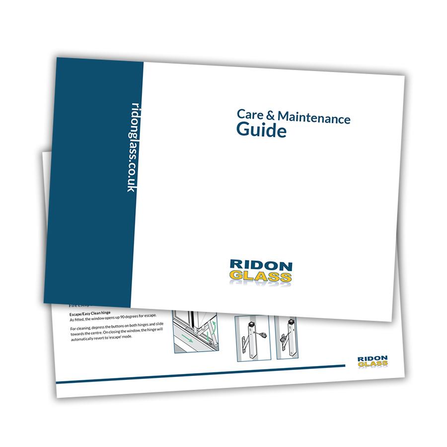 Ridon Glass maintenance guide